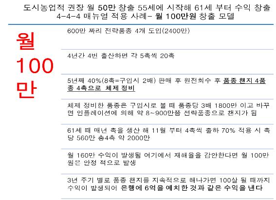월 100만 창출 모델
